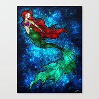 The Mermaids Song Canvas Print