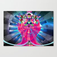 Canvas Print featuring Oracle by Ruben Marcus Luz Paschoarelli