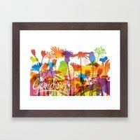 Giardino Framed Art Print