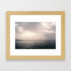 High Sea Landscape Framed Art Print