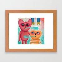 Calabacito & Son Framed Art Print