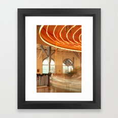 Out of Control Framed Art Print
