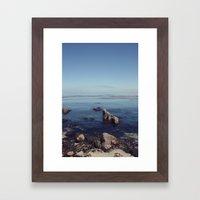 monterey horizon Framed Art Print