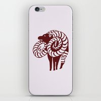 The Goat's Sin of Lust iPhone & iPod Skin