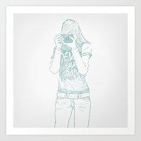 SKETCH Nº026 Art Print