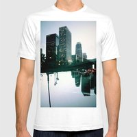 Landscapes (Los Angeles … Mens Fitted Tee White SMALL