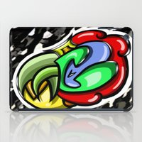 Digital Abstract Graffiti #4 iPad Case