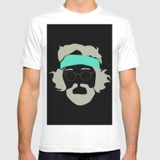 Tommy chong SMALL White Mens Fitted Tee