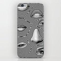 Silver Abuse iPhone & iPod Skin