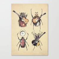 Meet the Beetles Canvas Print