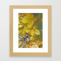 leaves evolved 1 Framed Art Print