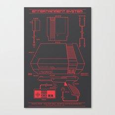 Entertainment System (da… Canvas Print