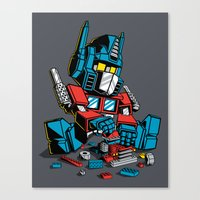 AUTOBLOCKS Canvas Print