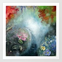 Spring Paradise Painting Art Print