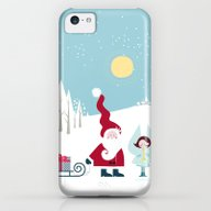 Santa And The Little Ang… iPhone 5c Slim Case