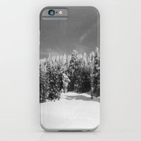 iPhone & iPod Case featuring snow-capped by sara montour