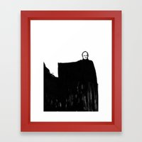 Nothing Escapes Me, No One Escapes Me Framed Art Print