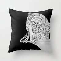 Ivory Tower (v3) Throw Pillow