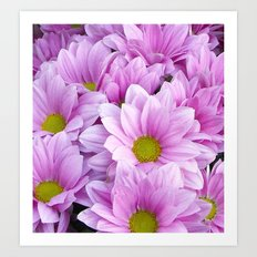 Lovely in Lilac Art Print