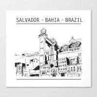 Salvador - Bahia - Brazi… Canvas Print