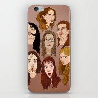 Silly Girls iPhone & iPod Skin