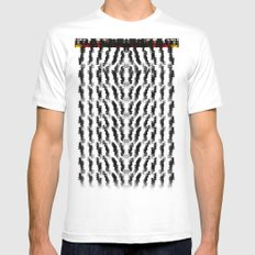 TRIABHES II Mens Fitted Tee SMALL White