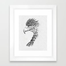 Black Eagle Framed Art Print