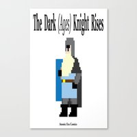 The Dark (Ages) Knight R… Canvas Print