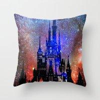Fantasy Disney. Nebulae Throw Pillow