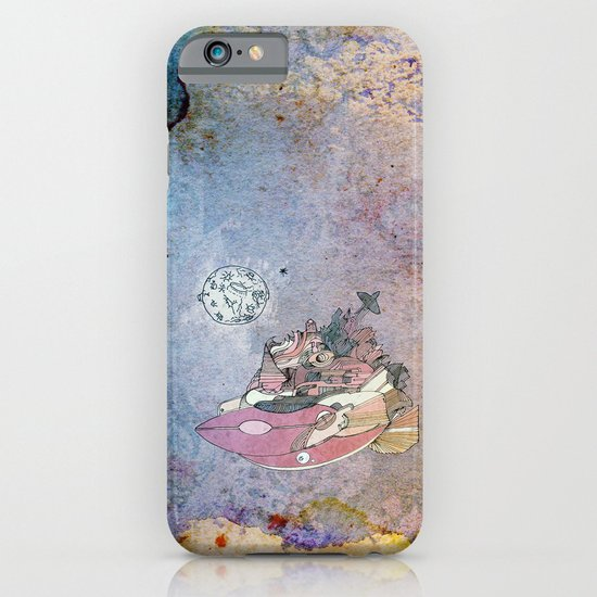On my way to the moon. iPhone & iPod Case