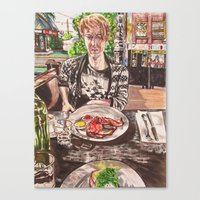 Brunch in Fitzroy Canvas Print