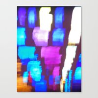 Finger (Glass) Painting Canvas Print