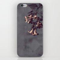 Evening Flowers iPhone & iPod Skin