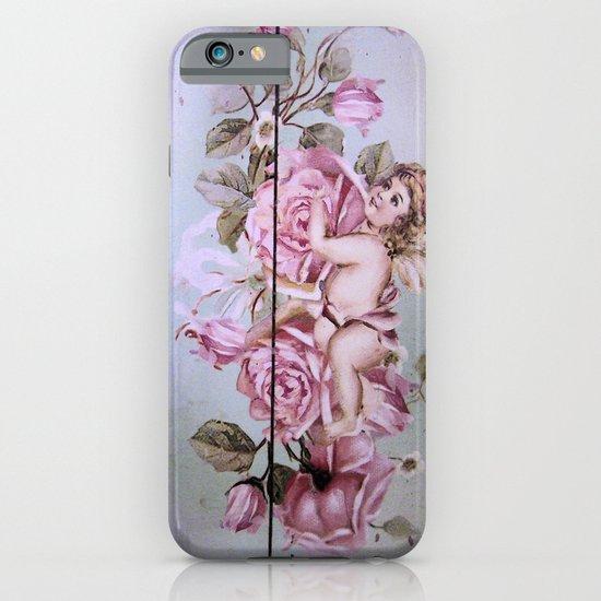 Angel Rose woodpanel iPhone & iPod Case