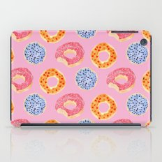 sweet things: doughnuts (pink) iPad Case