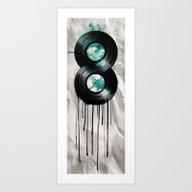 Infinity Vinyl Art Print