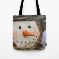 Snowman Fellow Tote Bag