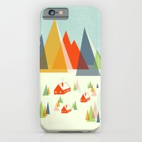 iPhone & iPod Case featuring The Foothills by Jenny Tiffany