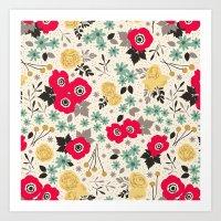 Blumen Art Print