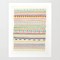 Pattern No.2 Art Print