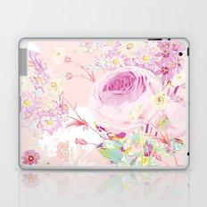 Flower bouquet in pink Laptop & iPad Skin