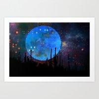The Moon2 Art Print
