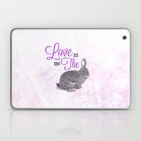 Love Is In The Hare. Laptop & iPad Skin