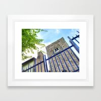 Blackfriars Church, Waterford City, Ireland. Framed Art Print