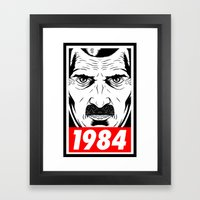 OBEY 1984 Framed Art Print