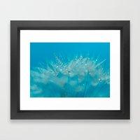 Make Your Wish Framed Art Print