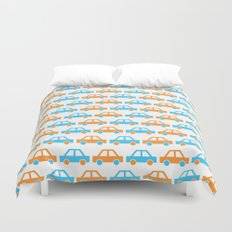 The Essential Patterns of Childhood - Car Duvet Cover