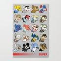 Super: Round 2 Canvas Print