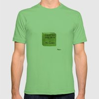 I Haven't Read Harry potter Mens Fitted Tee Grass SMALL