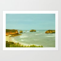 Ship wreck Coast - Australia Art Print